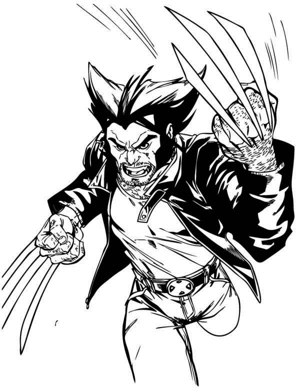 wolverine coloring sheet easy way to color wolverine coloring pages toyolaenergy coloring sheet wolverine