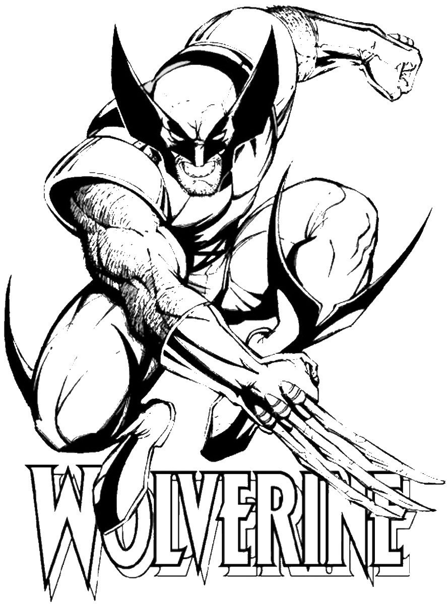 wolverine coloring sheet wolverine coloring pages to download and print for free coloring sheet wolverine