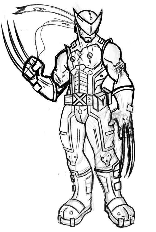wolverine coloring sheet wolverine coloring pages to download and print for free coloring wolverine sheet