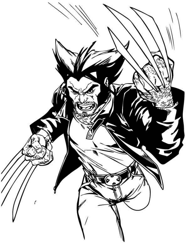wolverine coloring wolverine and the x men coloring pages wolverine coloring