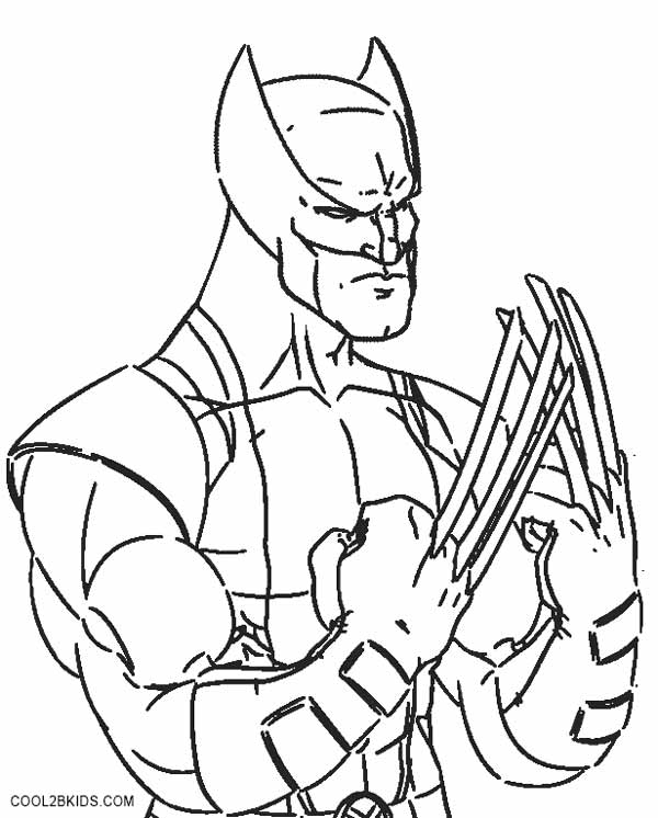 wolverine coloring wolverine coloring pages to print superhero coloring coloring wolverine