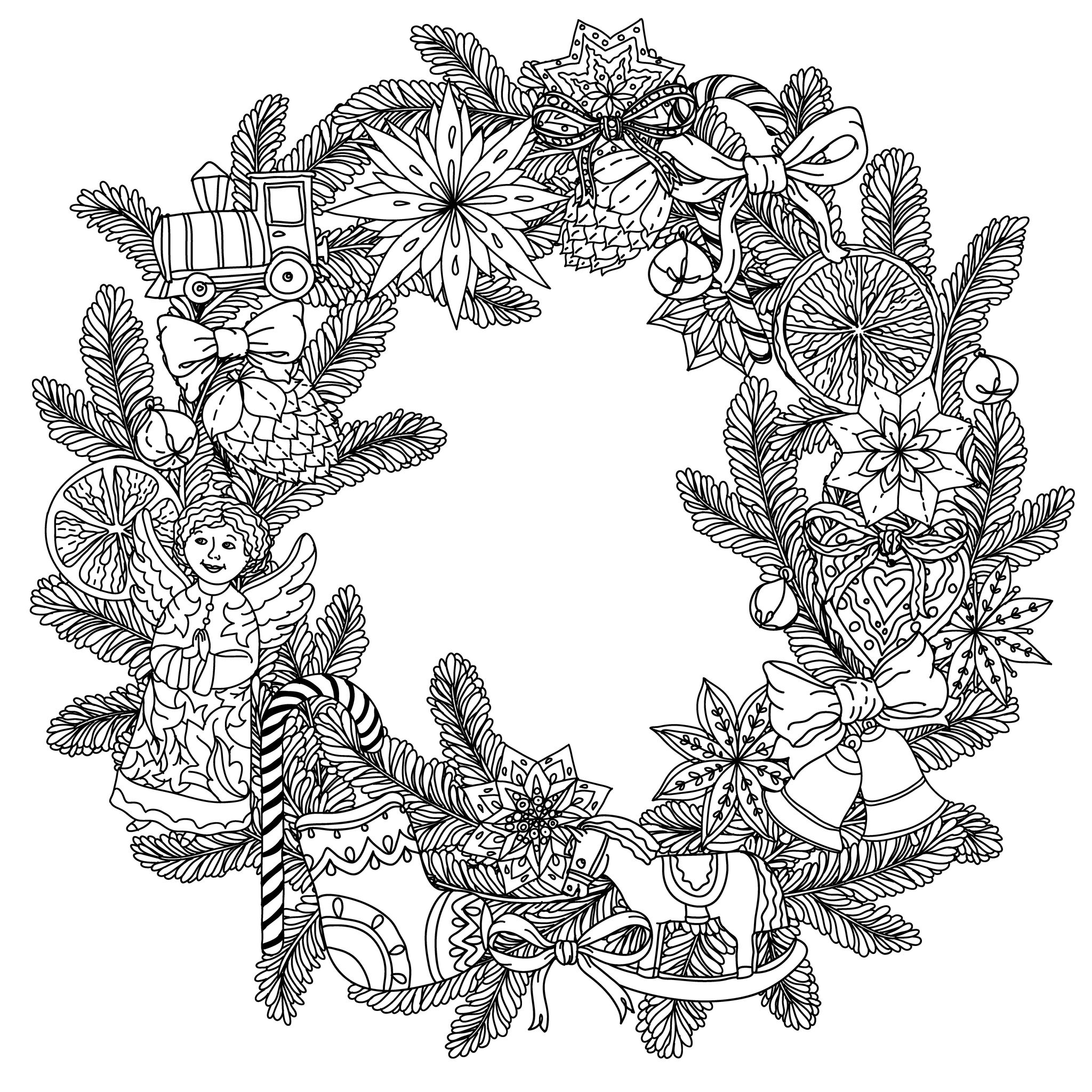 wreath coloring pages christmas wreath coloring page part 7 free resource wreath coloring pages