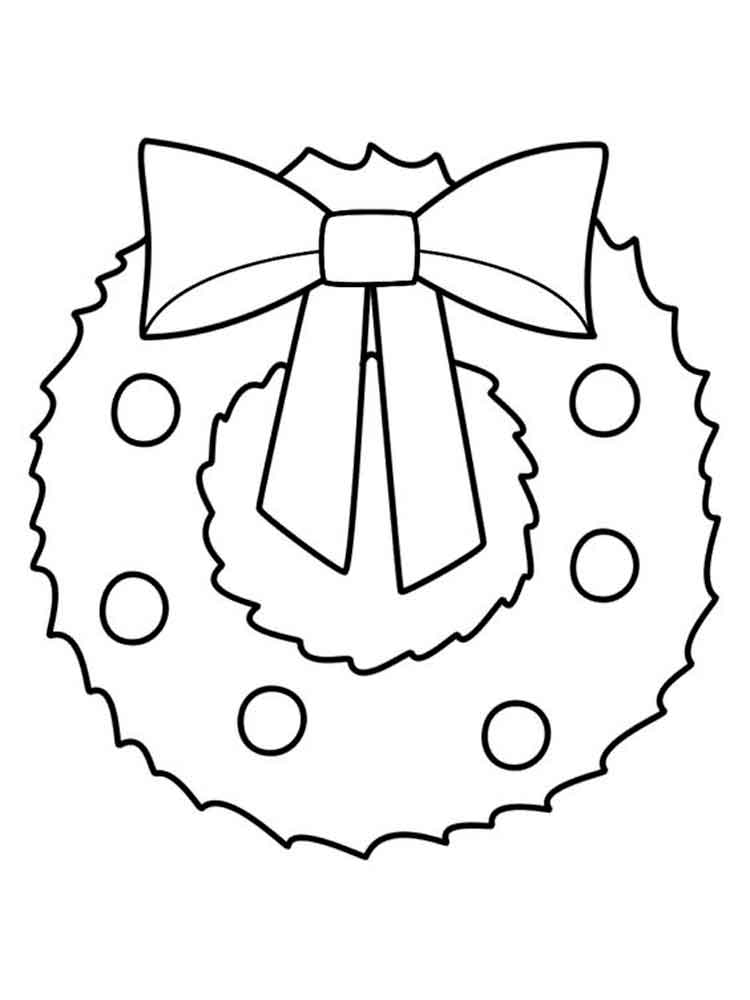 wreath coloring pages coloring pages kids 2020 33 pinterest christmas coloring coloring pages wreath