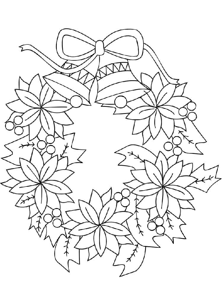 wreath coloring pages coloring pages wreaths coloring pages free and printable pages wreath coloring