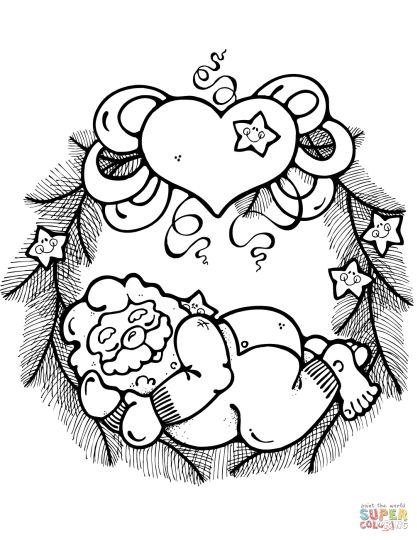 wreath coloring pages wreath archives the catholic kid catholic coloring pages wreath coloring