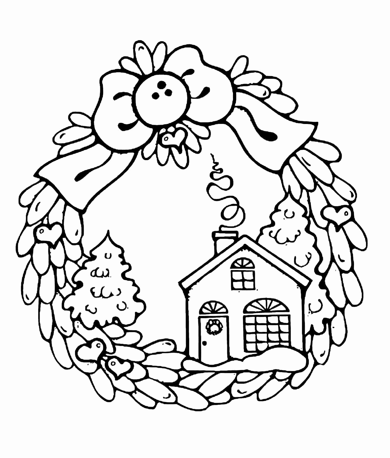 wreath coloring pages wreath coloring pages free printable wreath coloring pages wreath coloring pages 1 1