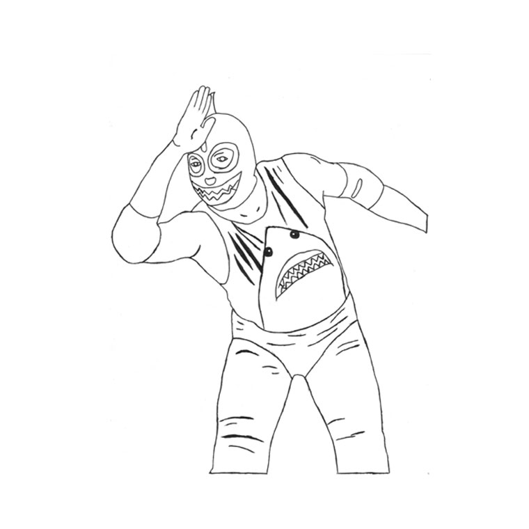 wwe rey mysterio coloring pages rey mysterio coloring pages at getdrawings free download coloring rey mysterio wwe pages
