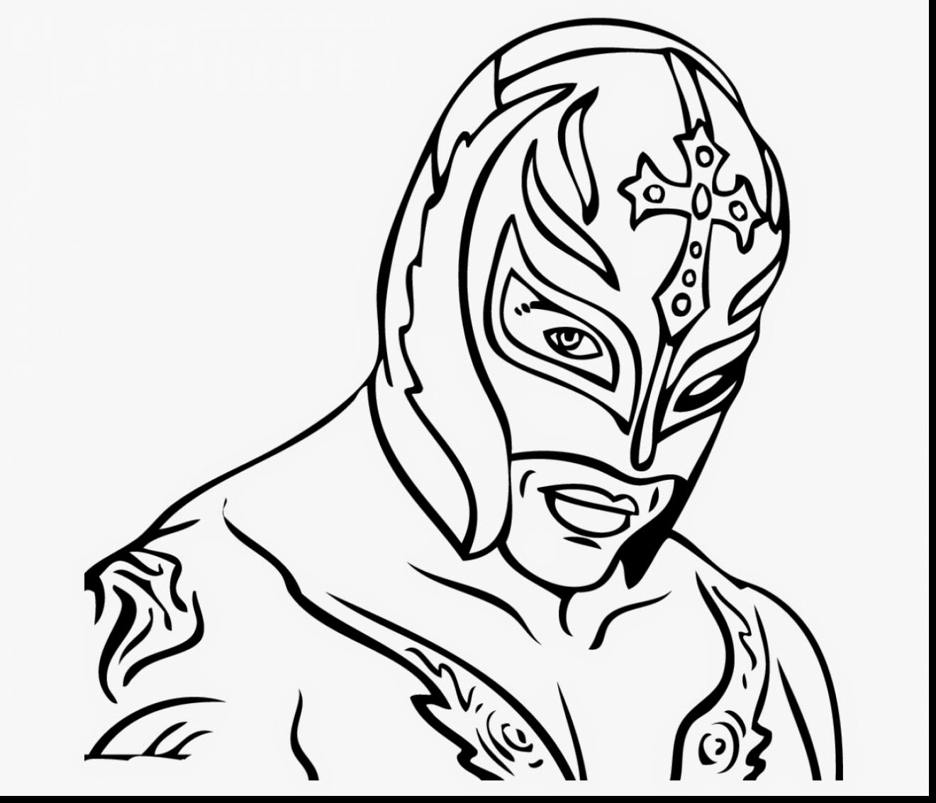 wwe rey mysterio coloring pages rey mysterio mask drawing at getdrawings free download coloring rey pages mysterio wwe