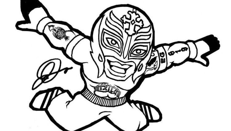 wwe rey mysterio coloring pages wwe rey mysterio coloring pages wwe rey mysterio coloring pages