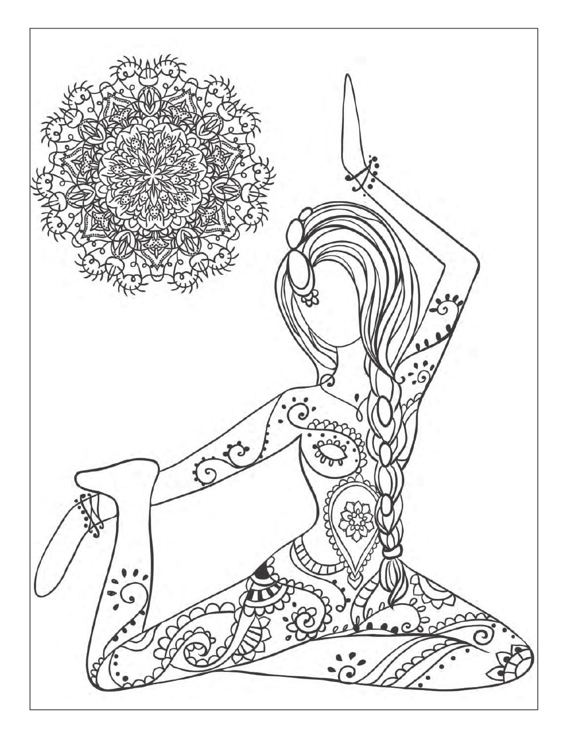 yoga mandala coloring pages image result for yoga colouring pages mandala coloring pages mandala yoga coloring