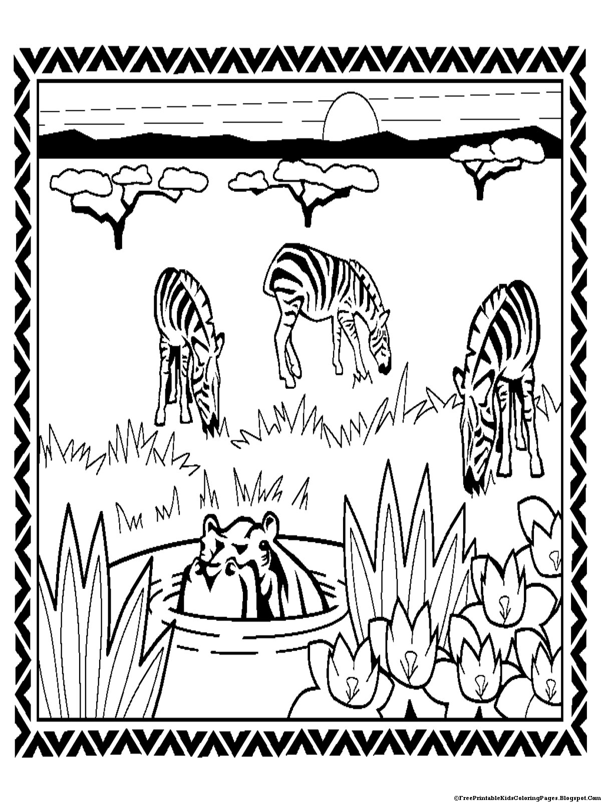 zebra print coloring pages zebra coloring pages free printable kids coloring pages zebra print coloring pages