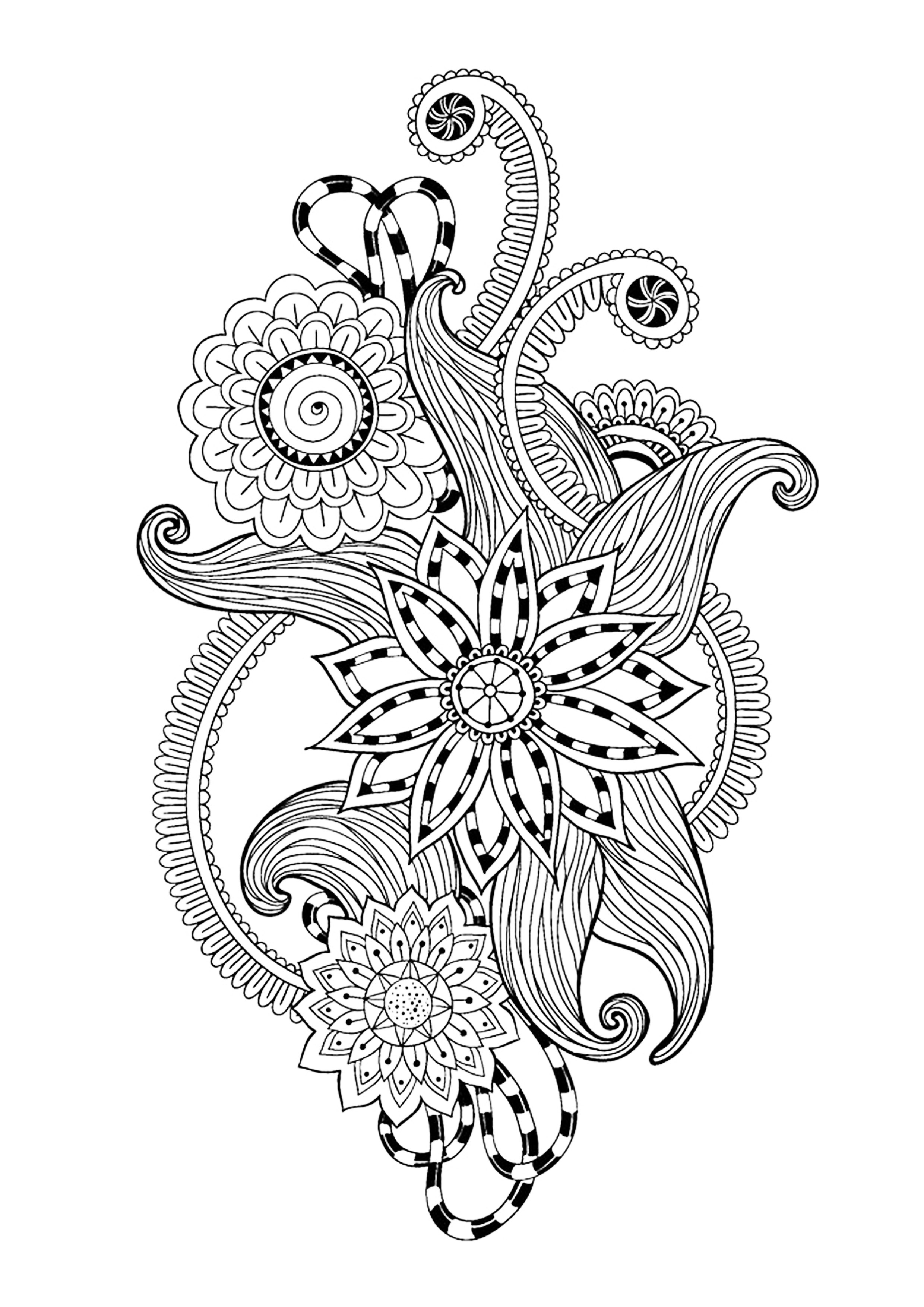zen art coloring pages zen antistress abstract pattern inspired anti stress coloring zen art pages