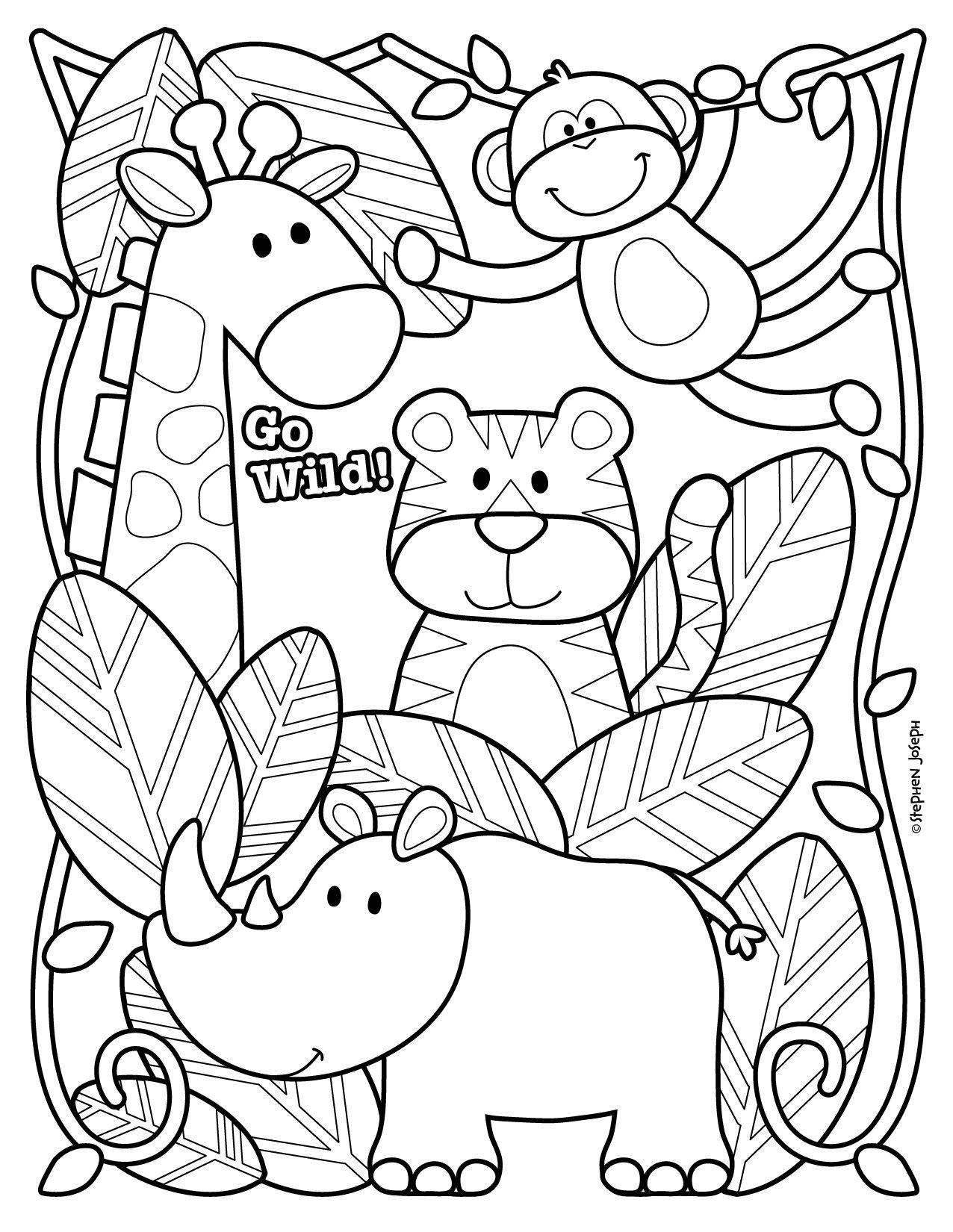 zoo animal coloring pages to print cartoon zoo animals coloring pages at getcoloringscom coloring to print zoo pages animal