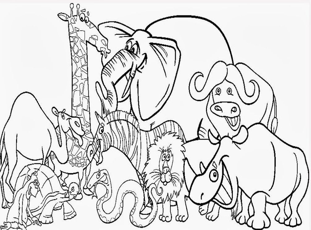 zoo animal coloring pages to print cute zoo animal coloring pages kids coloring pages pages zoo coloring animal to print