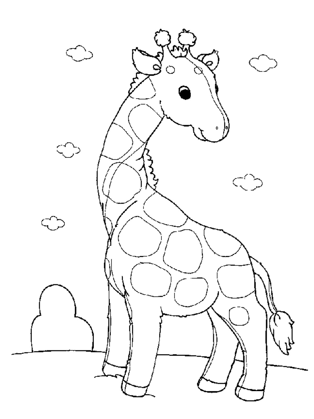 zoo animal coloring pages to print free printable giraffe coloring pages for kids to pages print zoo coloring animal