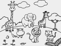 zoo coloring book free printable zoo coloring pages for kids book coloring zoo