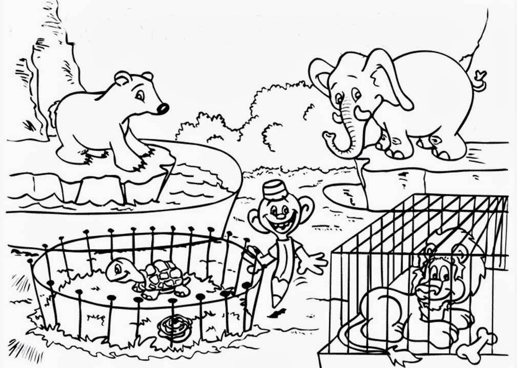 zoo coloring page printable zoo coloring pages coloringmecom page coloring zoo