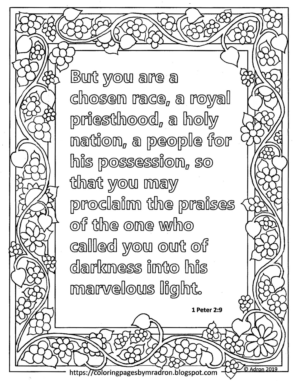 1 peter 5 7 coloring page coloring pages for kids by mr adron free print and color peter 1 7 coloring page 5