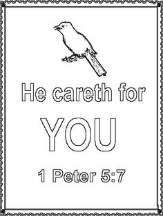 1 peter 5 7 coloring page unit 31 matthew 625 26 coloring page homeschool 5 peter 1 coloring 7 page
