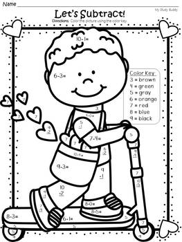 1st grade math coloring worksheets 7 best images of free printable fall worksheets free grade worksheets coloring 1st math