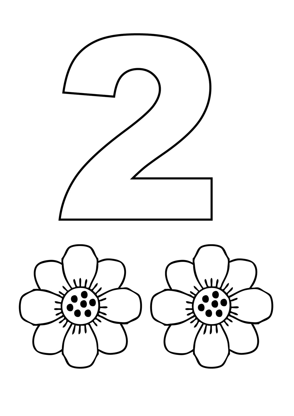 2 coloring page number 2 coloring pages coloring home page coloring 2