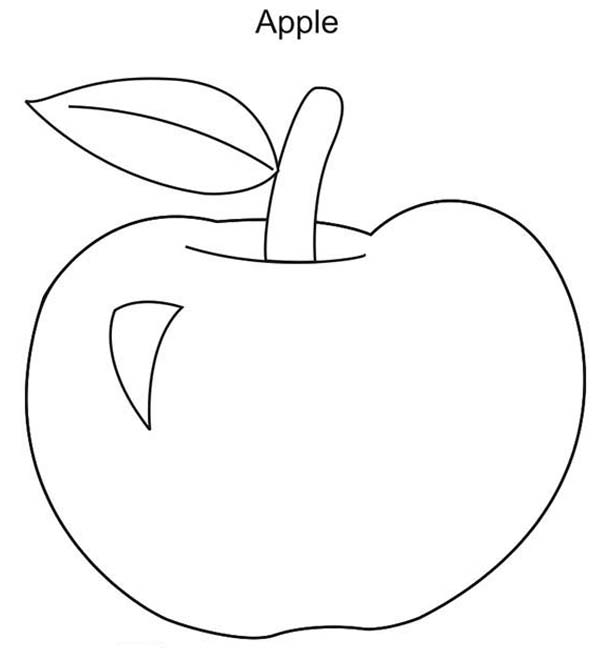 a for apple coloring page a worm is smiling inside red apple coloring page for a coloring page apple
