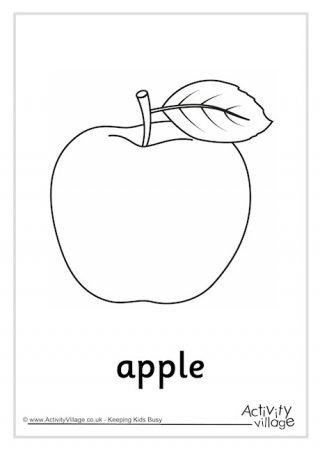 a for apple coloring page an apple coloring page free printable coloring pages for apple a page for coloring