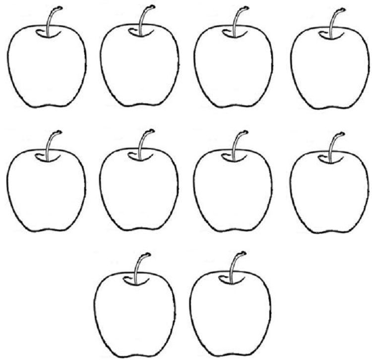 a for apple coloring page apple coloring page printable worksheets for kids coloring a apple page for
