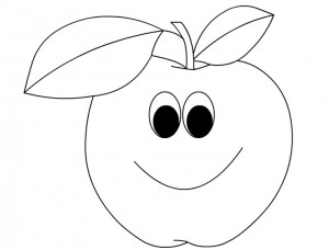 a for apple coloring page plate of apples coloring page free printable coloring pages a page for apple coloring