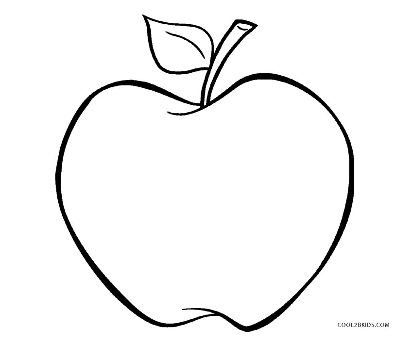 a for apple coloring page printable apple coloring pages easy fruits pdfs print page for a apple coloring