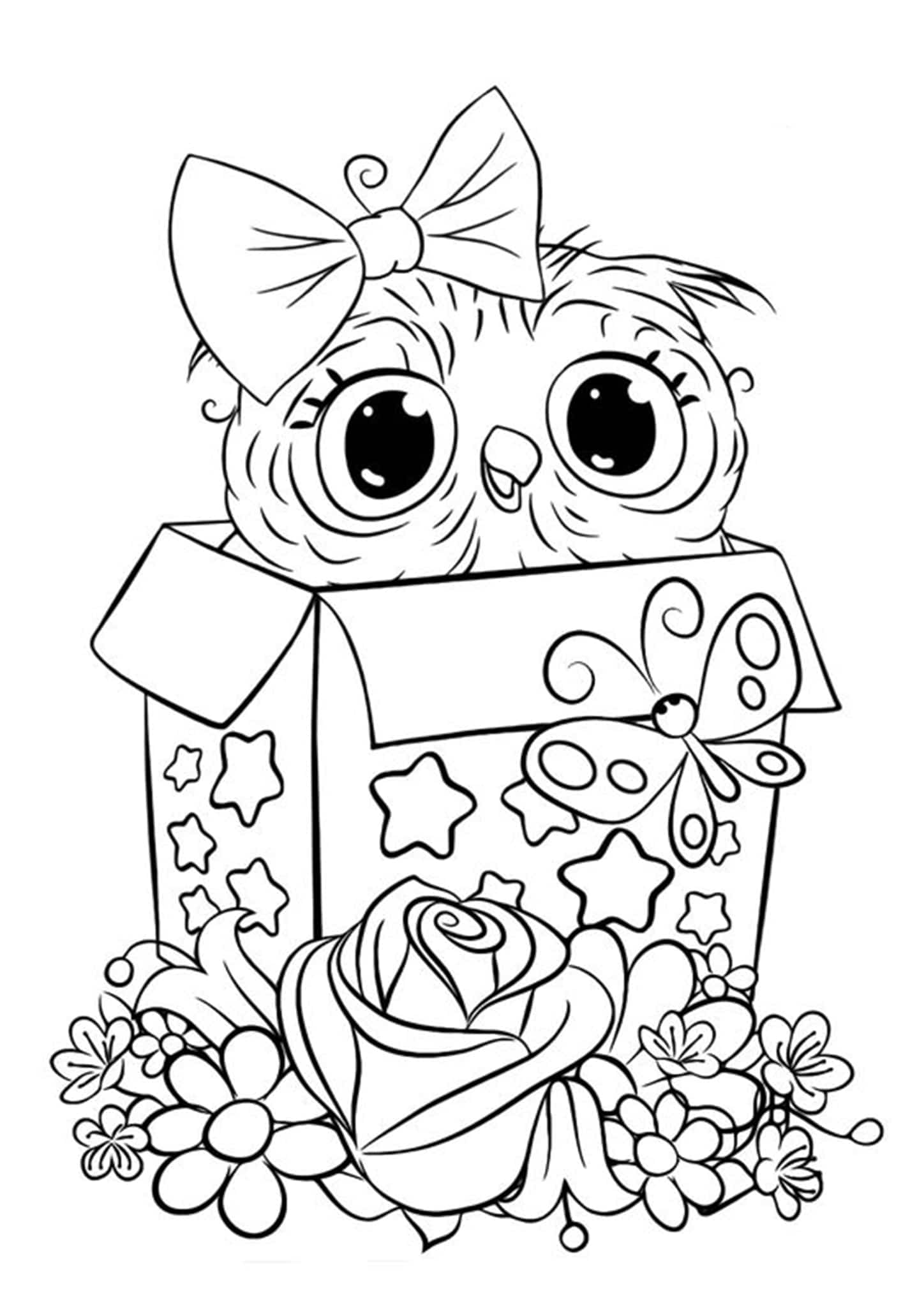 a picture to color free easy to print owl coloring pages tulamama color picture a to