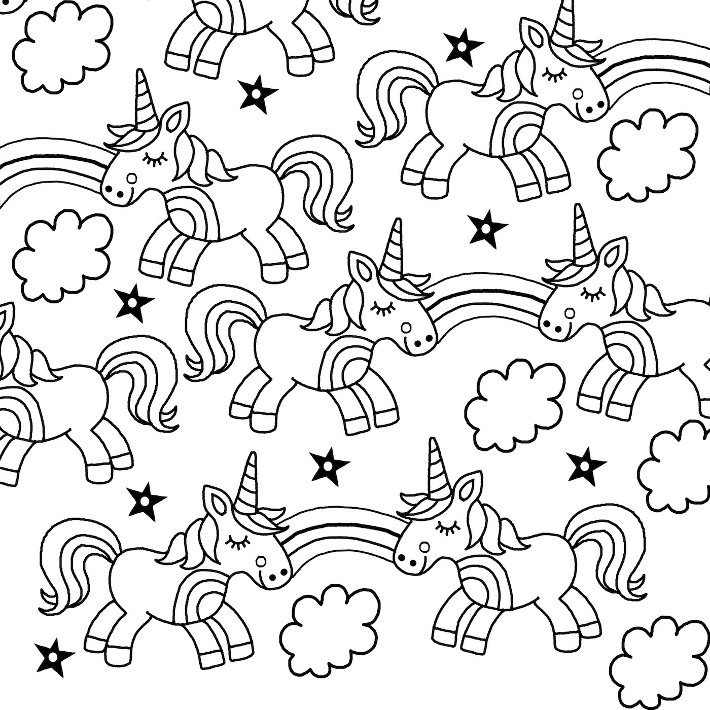 a unicorn coloring sheet realistic unicorn coloring pages download and print for free a coloring sheet unicorn