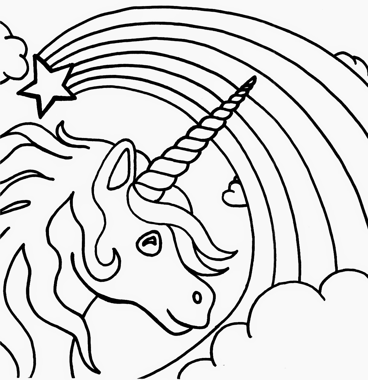 a unicorn coloring sheet unicorn coloring in page printable free kids coloring coloring unicorn a sheet