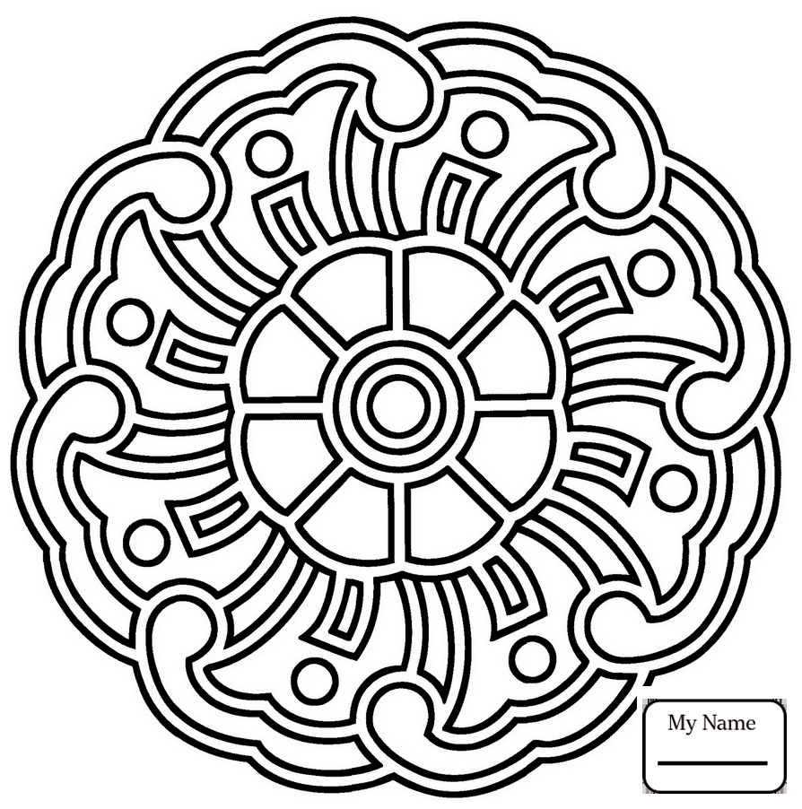 abstract mandala easy abstract mandala mandalas adult coloring pages abstract mandala