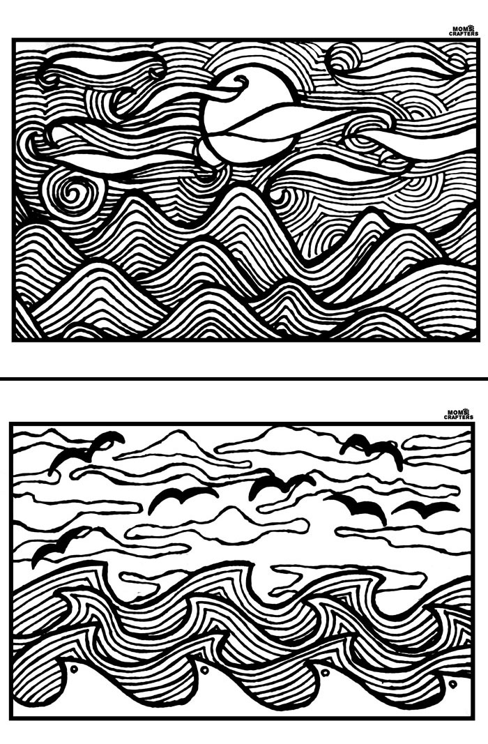 adults color coloring books free printable adult coloring pages sunsets 39n scenes adults books color coloring