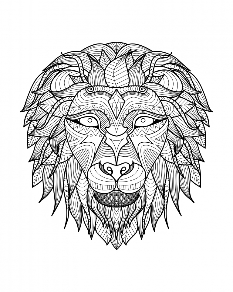 adults color coloring books get this lion coloring pages for adults printable 31662 books color coloring adults