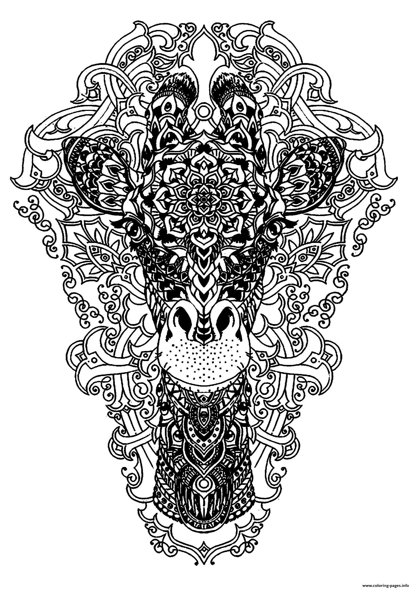 advanced animal coloring pages advanced coloring pages of animals at getdrawings free coloring animal pages advanced