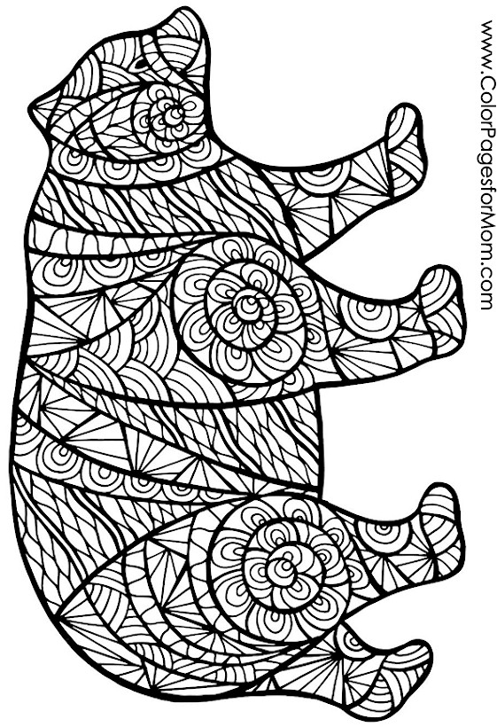 advanced animal coloring pages animals 67 advanced coloring page advanced coloring animal pages