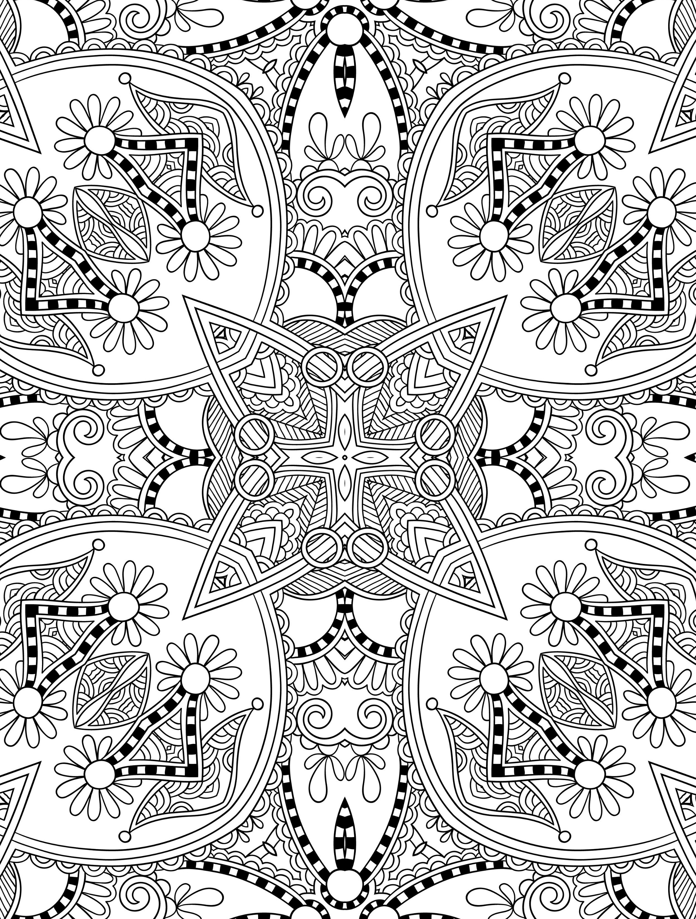 advanced coloring pages doodles 42 advanced coloring page coloring advanced pages