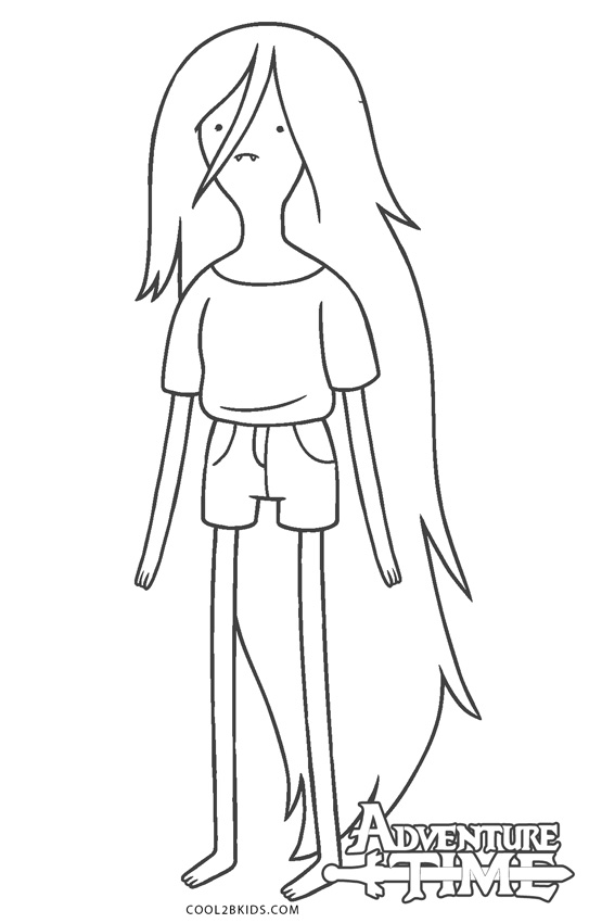 adventure time marceline coloring pages adventure time marceline coloring pages getcoloringpagescom coloring adventure marceline time pages