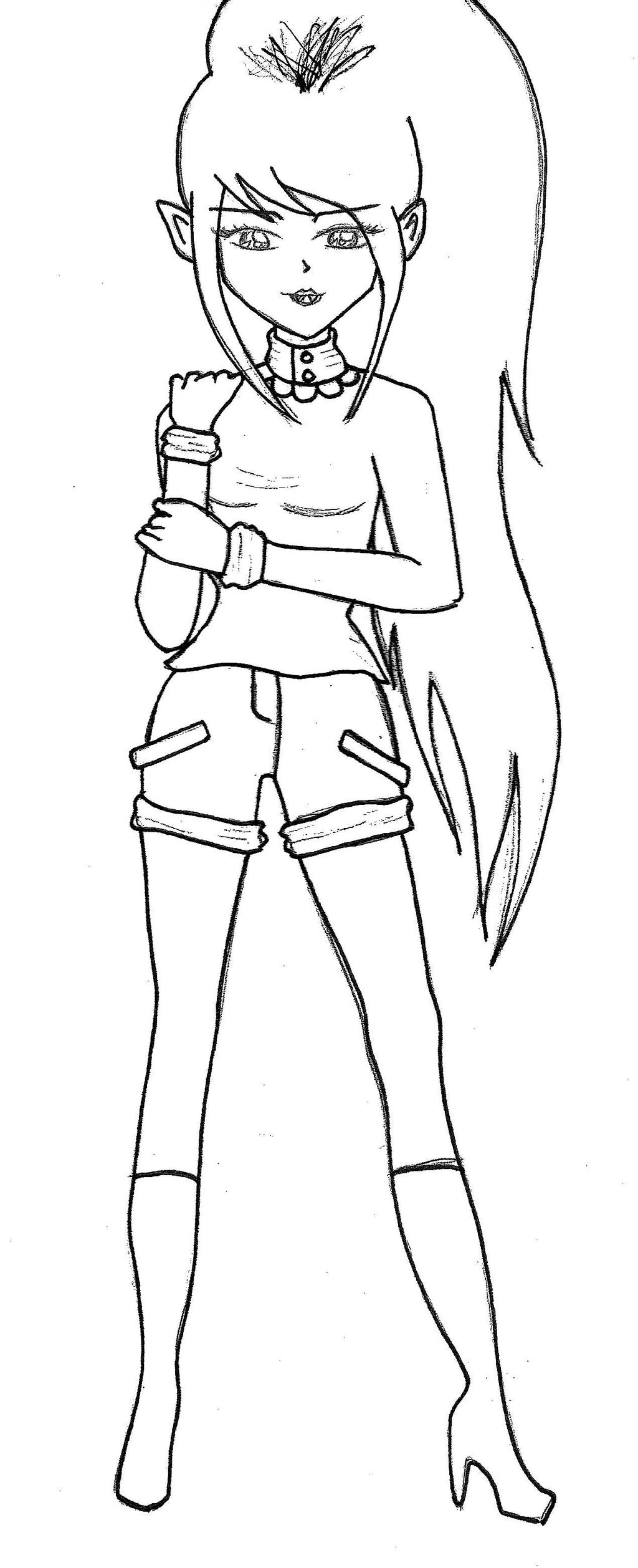 adventure time marceline coloring pages marceline zero by empty 10 on deviantart time adventure pages coloring marceline