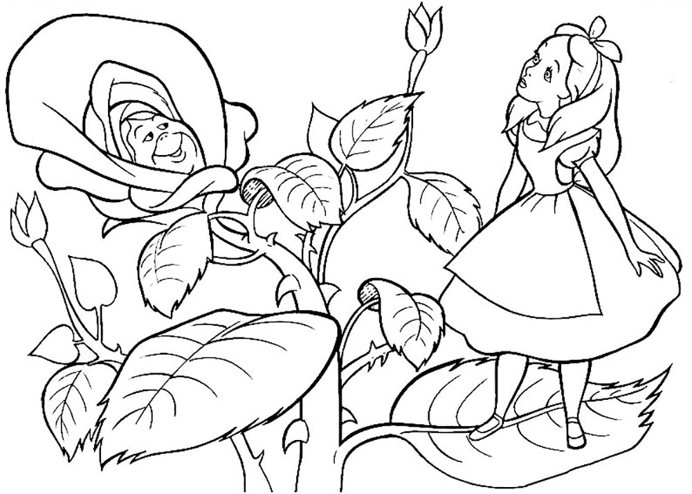alice and wonderland coloring pages alice in wonderland character mad hatter coloring page wonderland alice pages coloring and