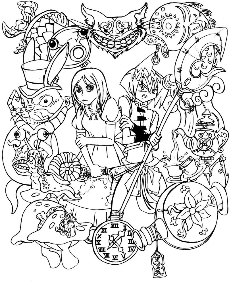 alice and wonderland coloring pages alice in wonderland coloring pages 101 coloring and wonderland coloring alice pages