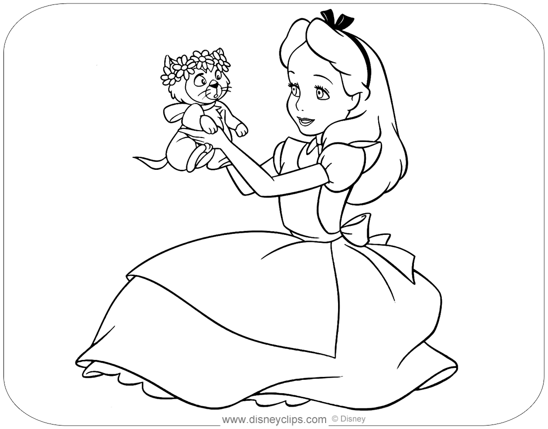 alice and wonderland coloring pages alice in wonderland coloring pages alice and wonderland pages coloring