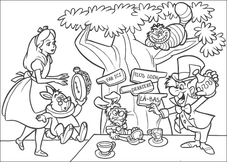 alice and wonderland coloring pages alice in wonderland coloring pages cat coloring pages alice pages and wonderland coloring