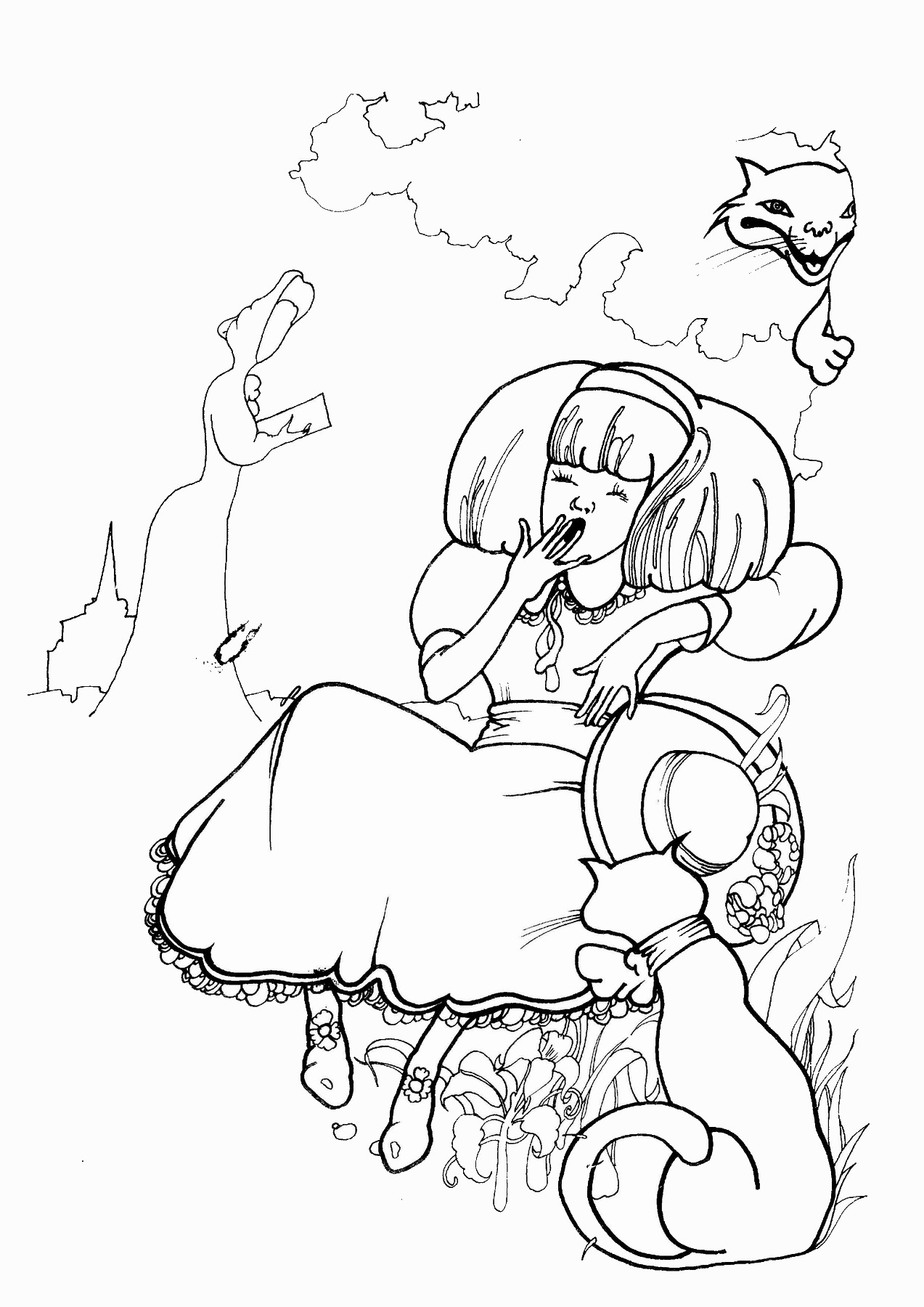 alice and wonderland coloring pages alice in wonderland coloring pages pages and wonderland coloring alice