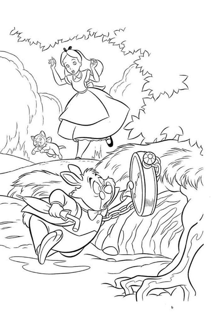 alice and wonderland coloring pages free printable alice in wonderland coloring pages alice wonderland pages coloring and