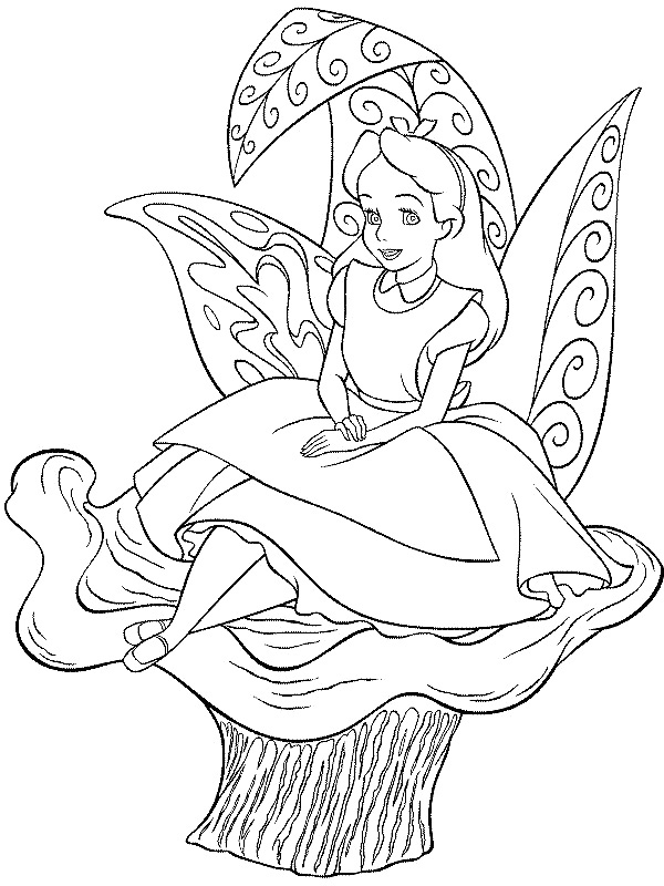 alice and wonderland coloring pages free printable alice in wonderland coloring pages and pages coloring wonderland alice