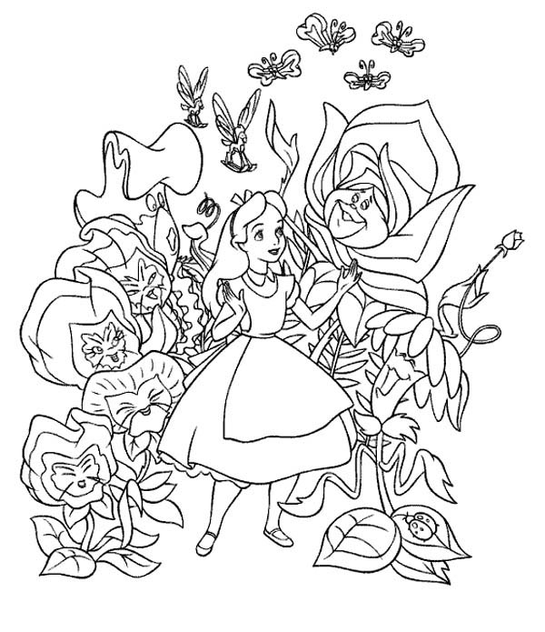 alice and wonderland coloring pages printable coloring pages of alice in wonderland wonderland alice coloring and pages