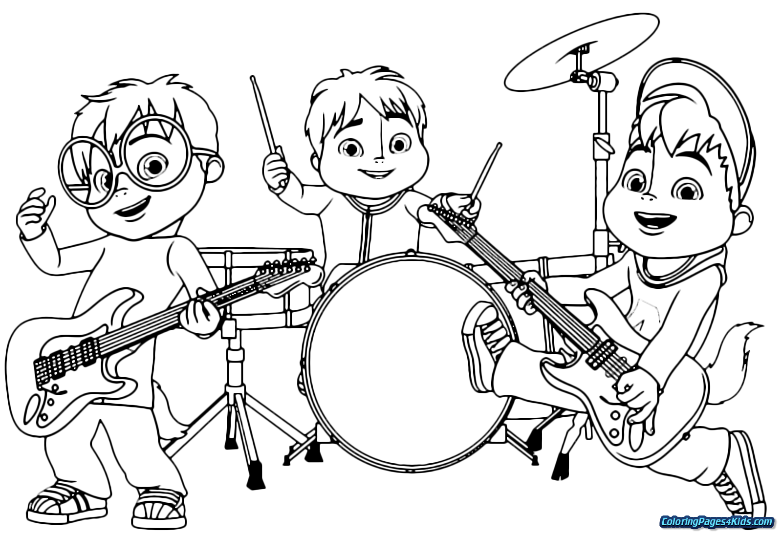 alvin and the chipmunks coloring pages alvin and the chipmunks coloring pages alvin and pages chipmunks coloring the